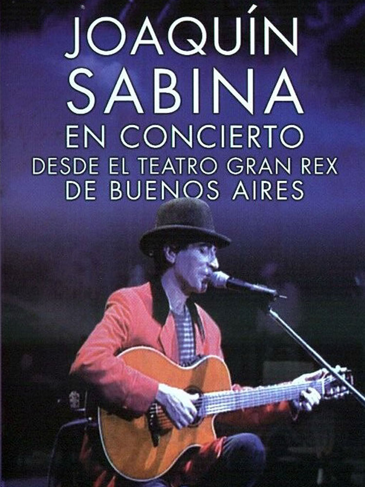 SABINA - DVD EN CONCIERTO DESDE EL TEATRO GRAN REX DE BUENOS AIRES