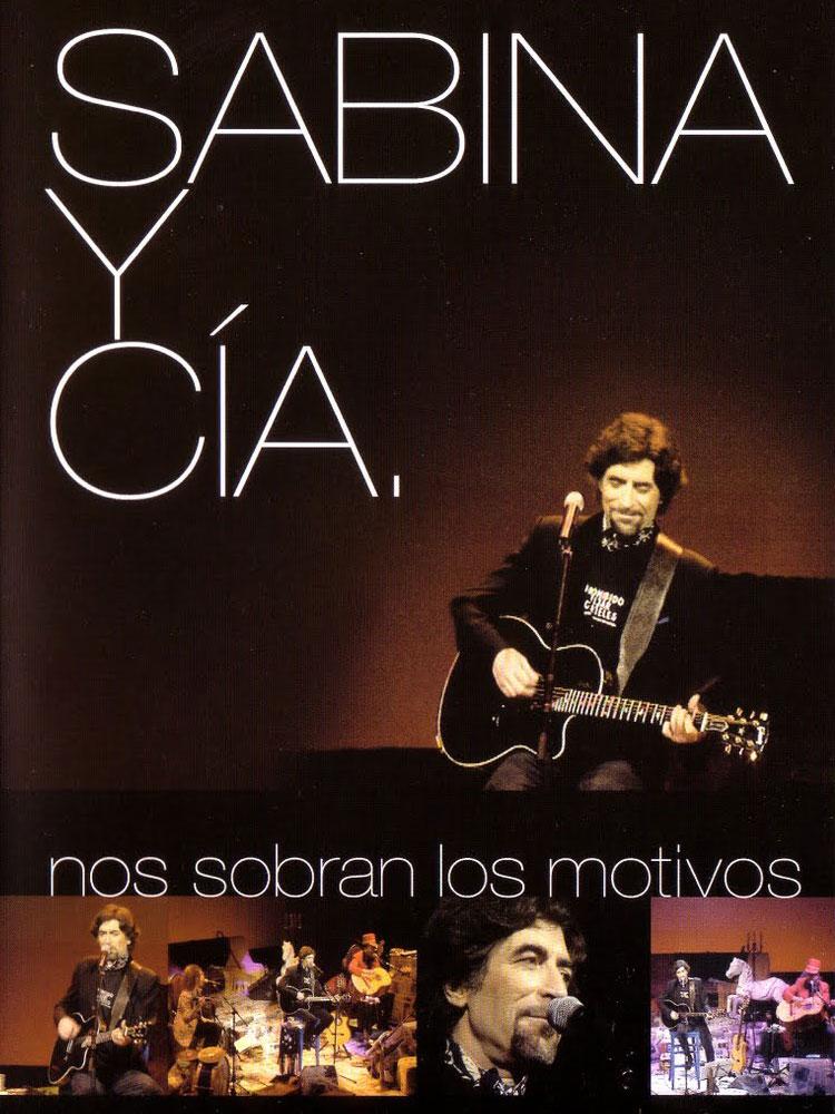 SABINA - DVD NOS SOBRAN LOS MOTIVOS