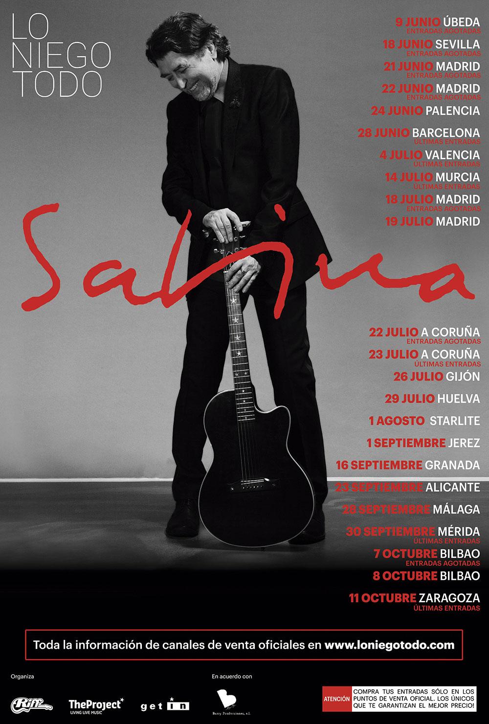 Agotadas las entradas tanbién en Sevilla y ÚBEDA